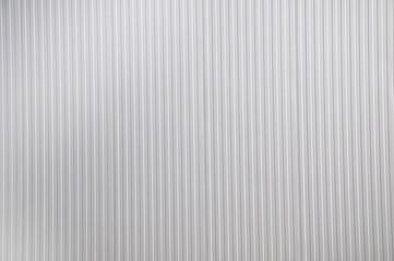 Sheet metal, corrugated wall building