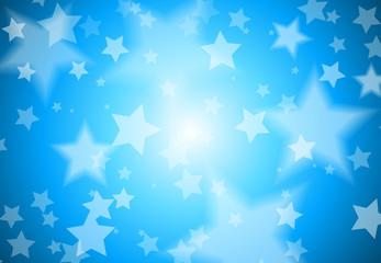 Vector Stars Background Illustration