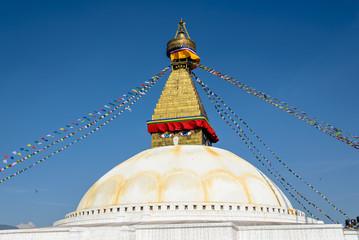 Tibetan Bodnath Temple, Kathmandu, Nepal