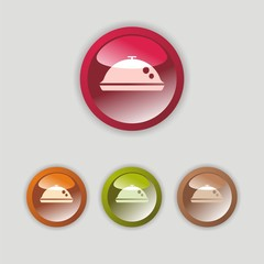 Tray icon four buttons