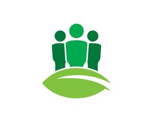 People Green - Eco People Logo