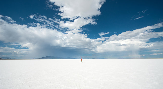Bonneville Salt Flat, Utah