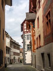 Colorful promenade in the center of Stein Am Rhein - 3