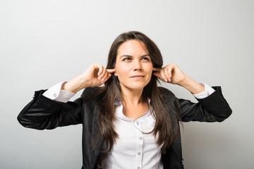 woman loud sound