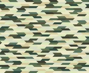 Polygonal Camouflage Seamless Pattern