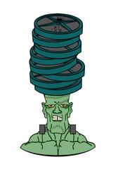 Frankenstein under weights