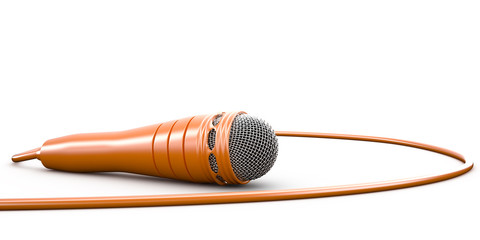 Isolated microphone, 3D