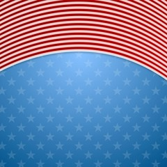 Memorial Day abstract USA flag colors background