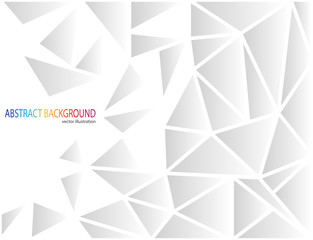Vector background abstract polygon triangles
