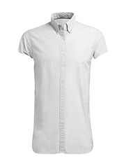 white shirt isolated