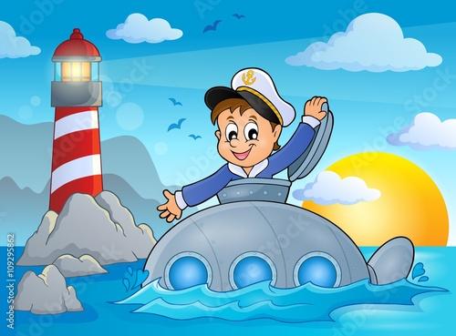 подводная лодка psd