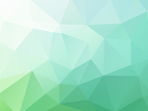 Abstract blue green vector background