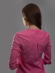 woman back view