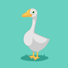 funny cartoon Goose