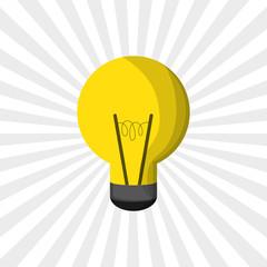 Idea design. bulb icon. thinking concept