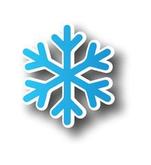 Snowflake icon clipart