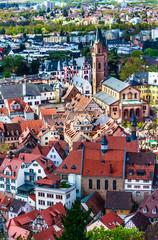 Malerische Altstadt Weinheim an der Bergstraße