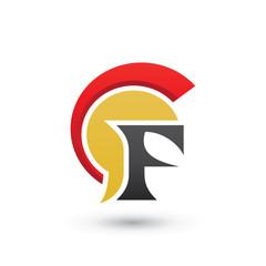 Spartan Head F logo