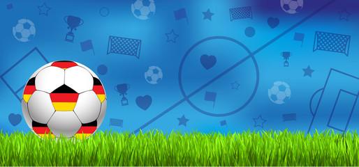 Fussball Hintergrund Ball