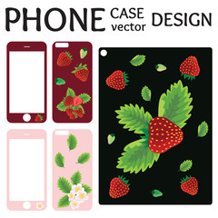 Mobile phone screen and cover back collection