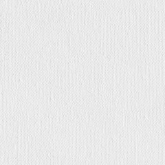 White canvas texture. Seamless square texture. Tile ready.