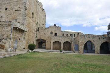 Knight templar citadel of Acre (Hospitallerian citadel), Old Acre (Akko), Israel