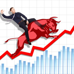 Risky but successful rodeo on Stock Exchange