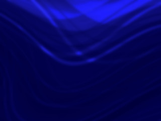 Abstract  Blue smooth twist light lines background.