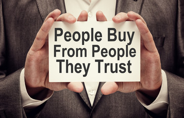 people buy from people they trust - Video content enhances trust and credibility