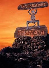 Timanfaya fire devil, Lanzarote.