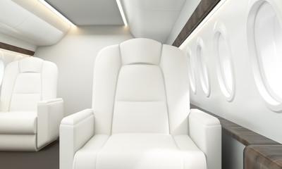 Leather armchair aircraft