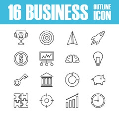business outline icon
