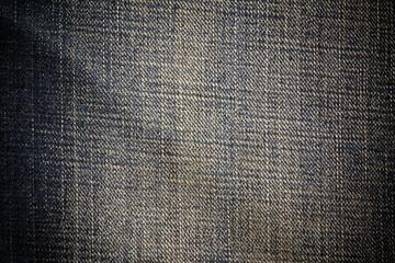 Vintage jeans background.