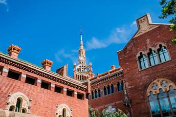 Ancien Hôpital de Sant Pau à Barcelone