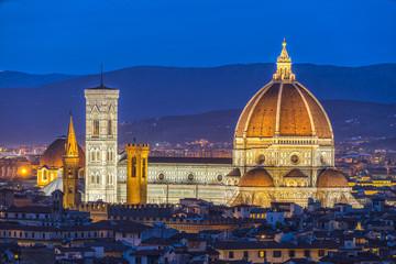 Florence at sunrise, tuscany, Italy.