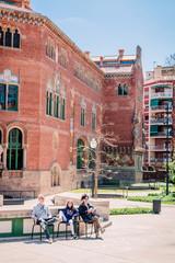 Balade dans l'Ancien Hôpital de Sant Pau à Barcelone