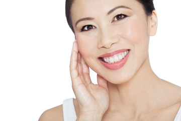 Beautiful Natural Asian Woman
