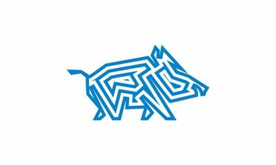 pig icon logo