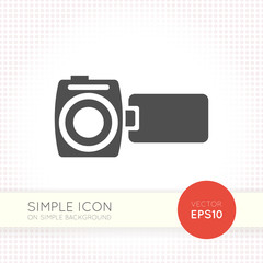 Video camera icon vector, video camera icon eps, video camera icon illustration, video camera icon picture, video camera icon flat, video camera icon, video camera web icon, video camera icon art