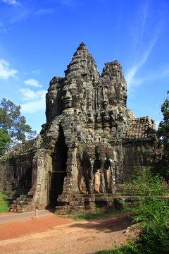 South gate,  Angkor Thom, Cambodia