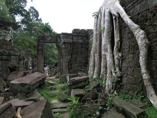 Preah Kahn temple, Cambodia