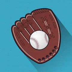 nice baseball symbol