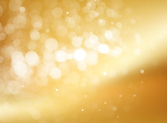 Festive abstract background with bokeh defocused lights