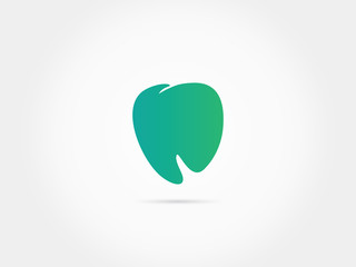 Simpe minimal dental icon logo