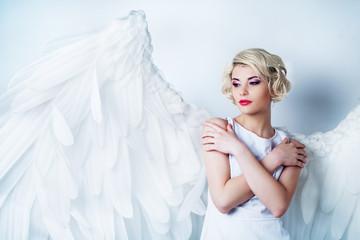 Printed kitchen splashbacks Artist KB beautiful angel