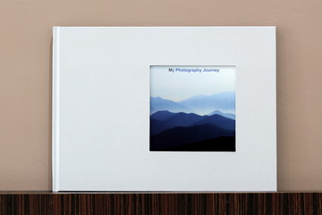 My Travel Landscape Photobook with Minimalist Cover