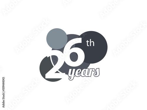 Years anniversary banner vector thirty thirtieth vector