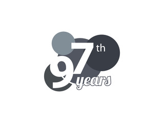 97th year anniversary logo