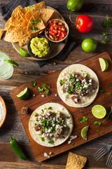 Homemade Carne Asada Street Tacos