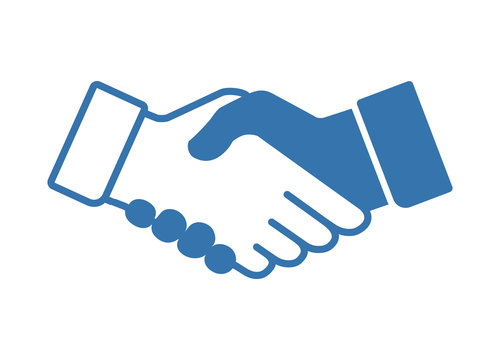 Vector Illustration of Handshake Icon